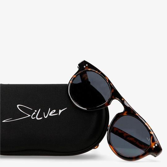 Gafas Sol Silver Marrón