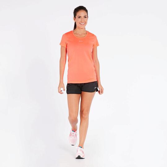 Camiseta Running Coral Mujer Ipso