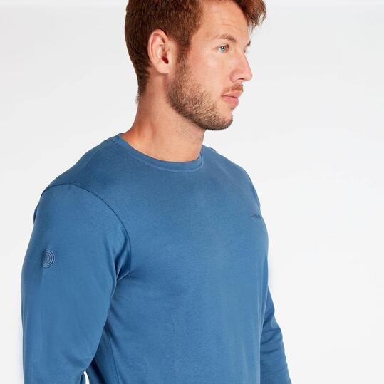 Camiseta Manga Larga Azul Boriken