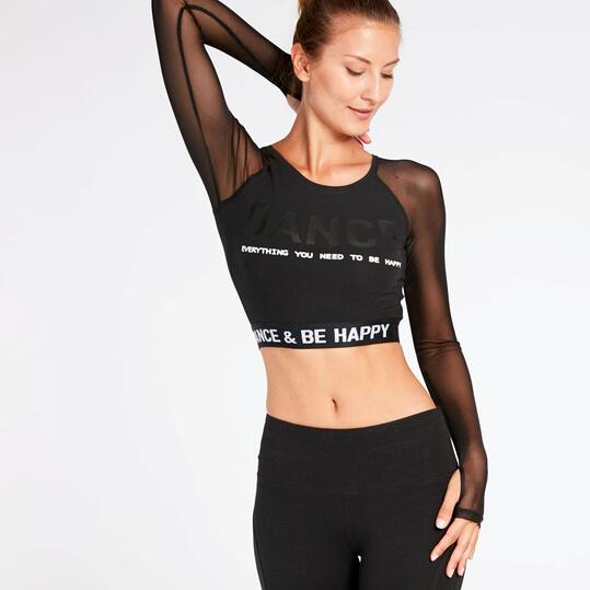 Camiseta Negra Ilico Danza