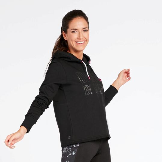 Sudadera Fitness Negra Ilico