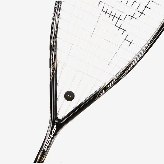 DUNLOP BLAKCSTORM TITANIUM 40 Raqueta Squash Negra
