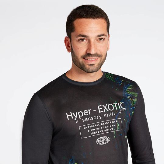 Camiseta Negra Silver Psyco