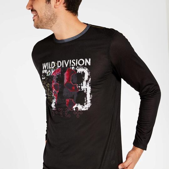 Camiseta Silver Wild Negra