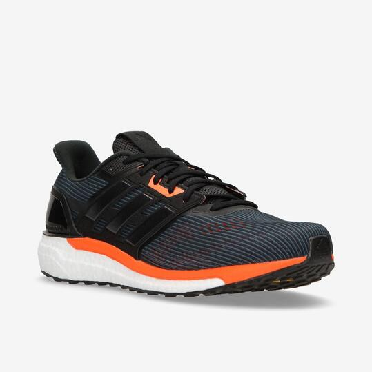 zapatillas de running de hombre adidas supernova boost negra