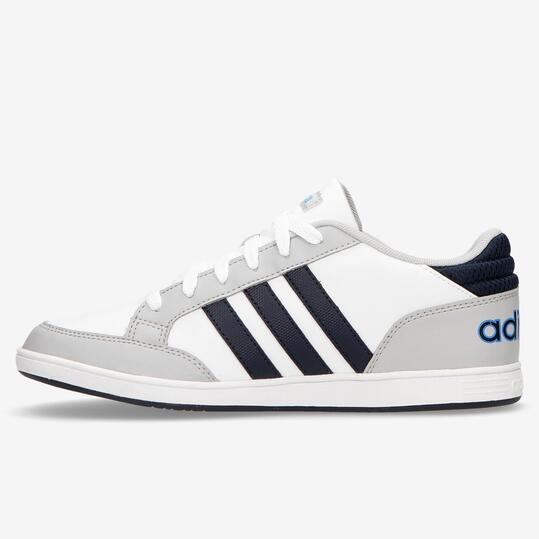 Zapatillas adidas Hoops Blancas Niño (36-40)