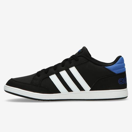 Zapatillas adidas Hoops Negras Niño (36-40)
