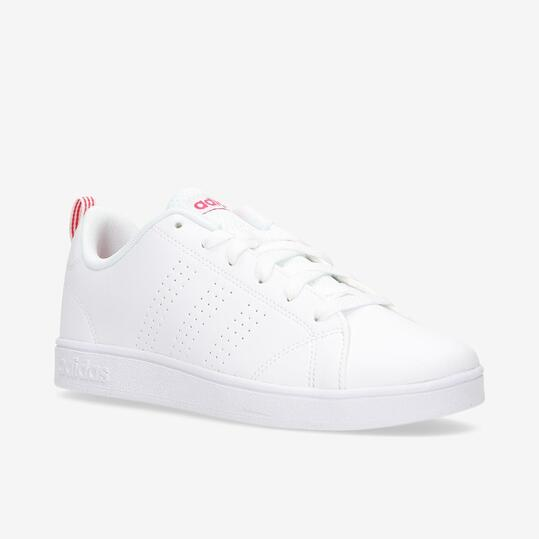 Zapatillas adidas Advantage Blancas Niña (36,5-38,5)