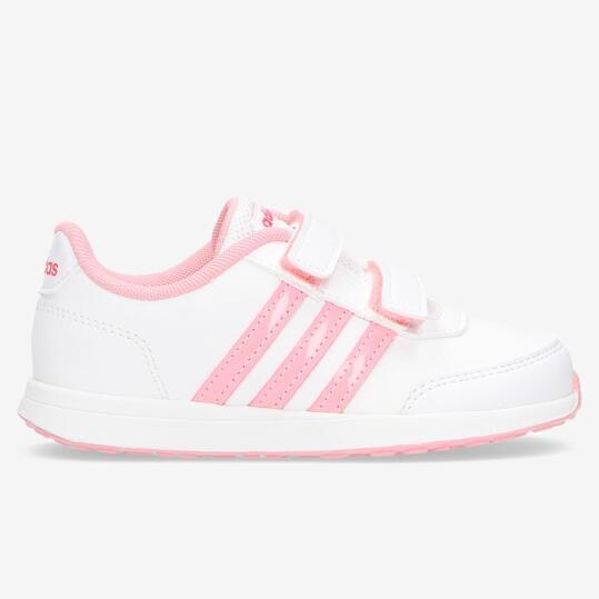 zapatillas blancas adidas niña