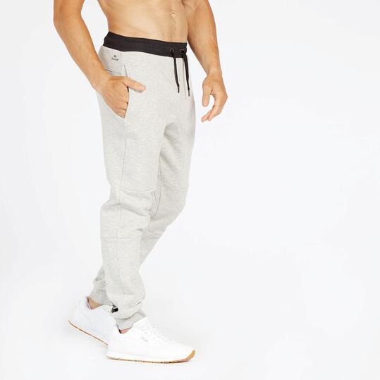 Pantalón Chándal Gris Silver
