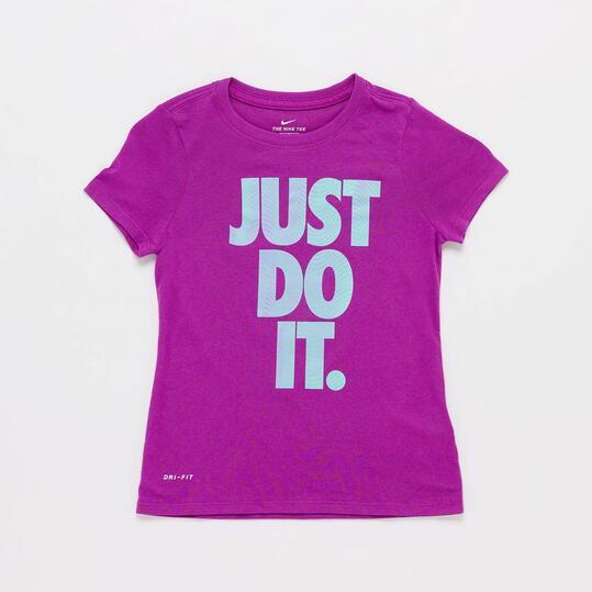 Camiseta Nike Morada
