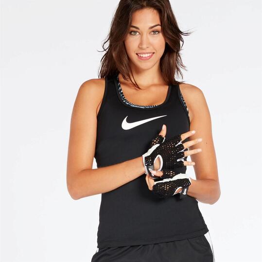 Camiseta Tirantes Nike Victory Negra Mujer