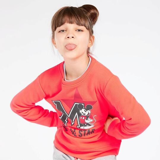 Chandal Mickey Gris Niña (10-16)