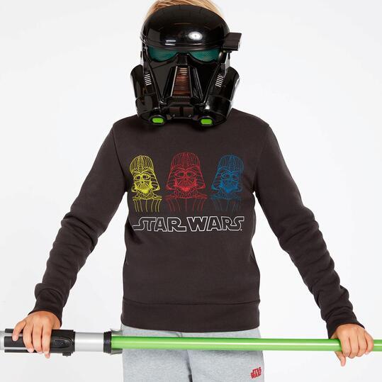 Chándal Star Wars Gris Oscuro Niño (10-16)