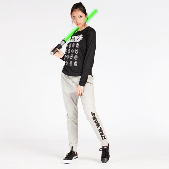 Pantalón Star Wars Gris Claro Mujer