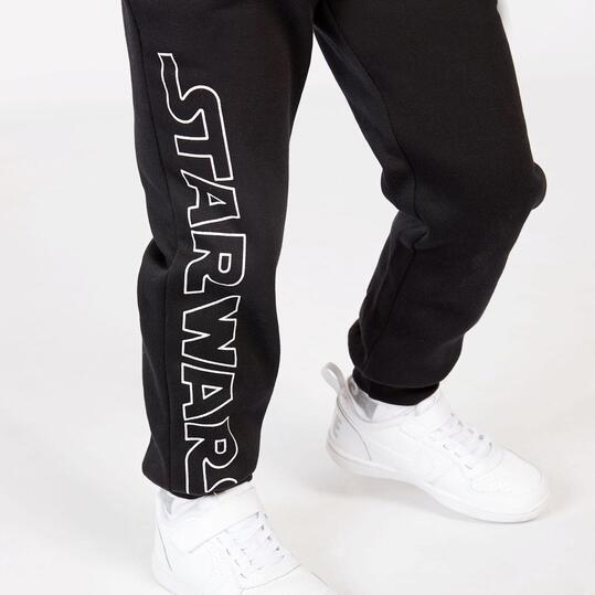 Pantalón Star Wars Negro Niño (2-8)