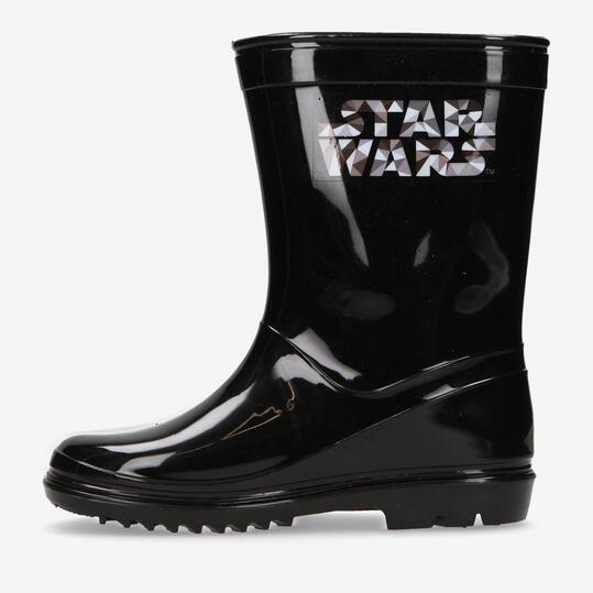 Botas Agua Star Wars Negras Niño (28-35)