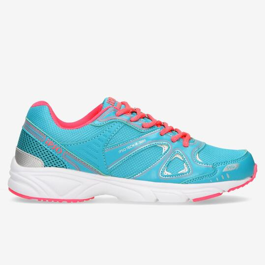 zapatillas running azules ipso tech ir