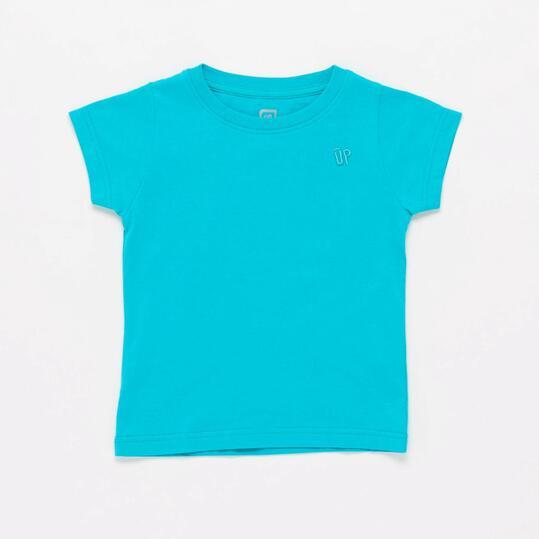 Camiseta Azul Niña Up  4de3effc70208