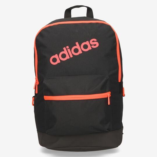 mochila adidas negra y rosa