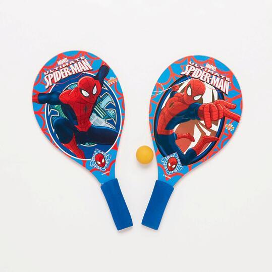 Palas Playa Spiderman Azul