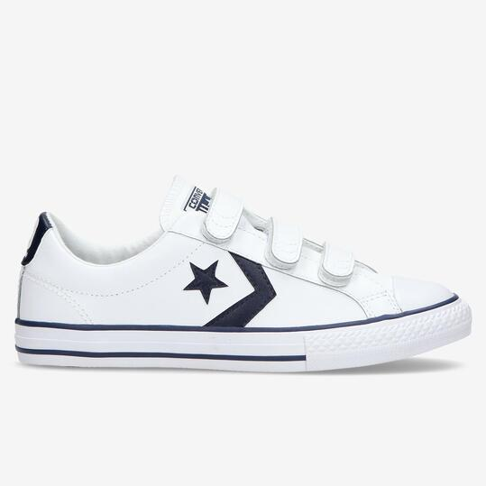 converse blancas star player