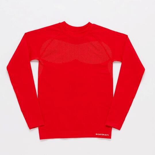 Camiseta Interior Roja Junior Boriken