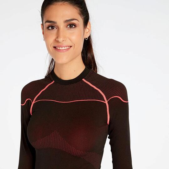 Camiseta Interior Negra Coral Boriken