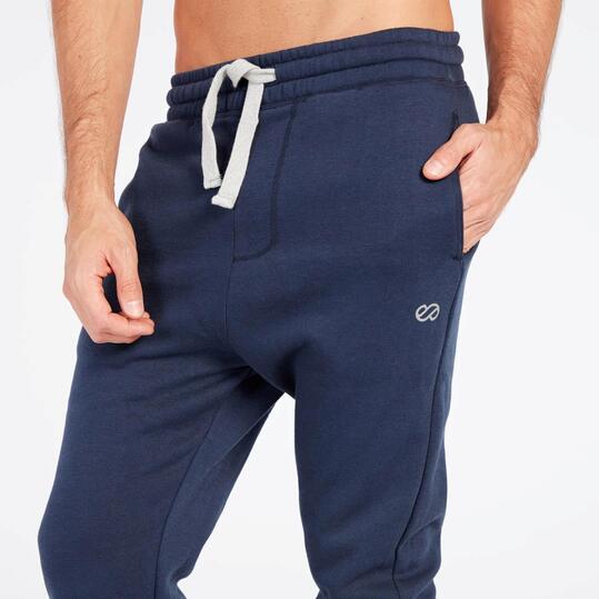 Pantalón Chándal Baggy Azul Silver