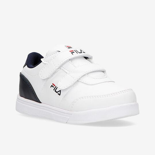 Zapatillas Fila Strap Blancas Niño (22-27)
