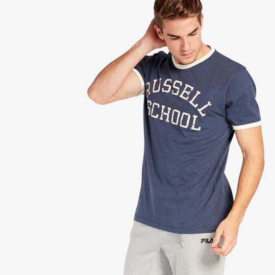 Camiseta Azul Russell Athletic