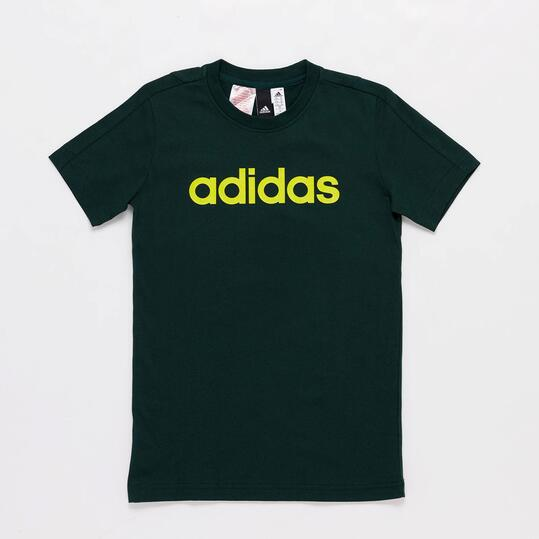 camiseta adidas junior blanca