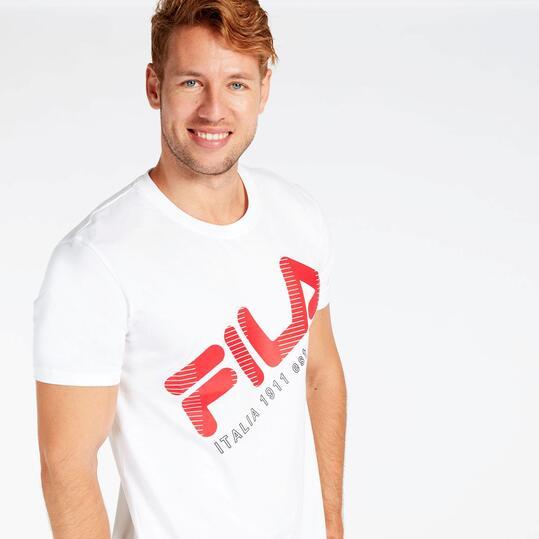 Camiseta Blanca Fila