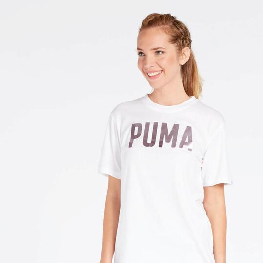 Camiseta Puma Fusion Blanca