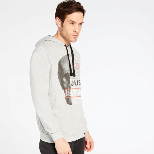 Sudadera Gris Up Basic