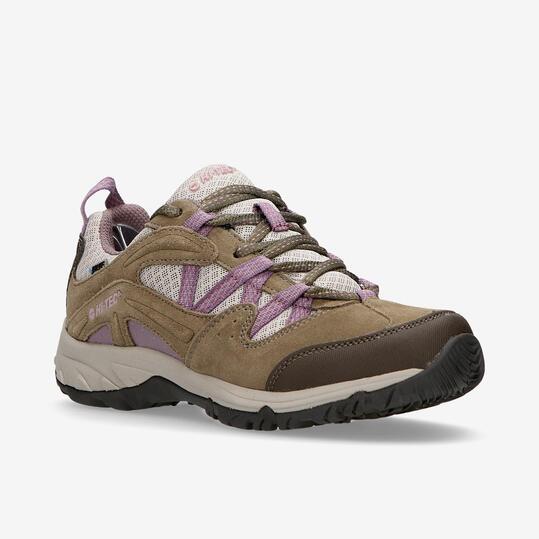 Zapatillas Montaña Mujer Hi Tec Celcius Marrón