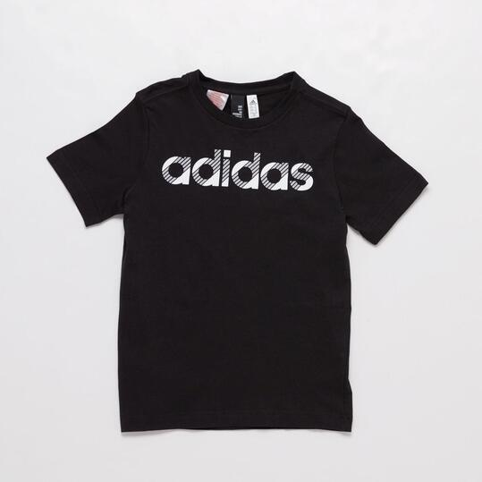 Camiseta adidas Negra Junior