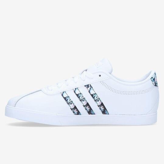 zapatillas adidas courtset blancas mujer