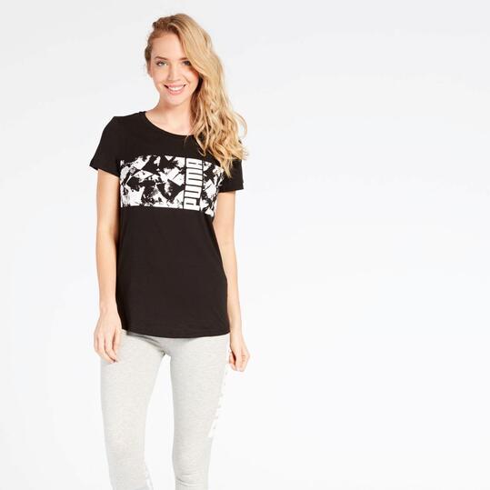 Camiseta Puma Negra