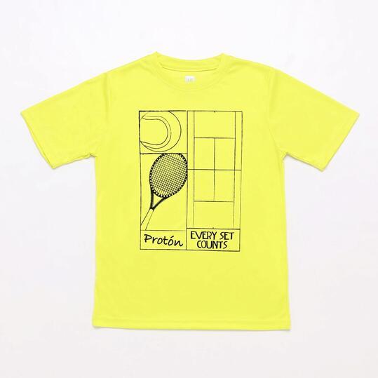 Camiseta Tenis Lima Proton Niño