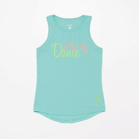 Camiseta Tirantes Fitness Ilico Dance