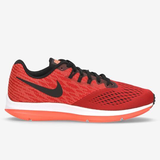 zapatillas running hombre nike rojas