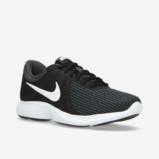 detailed look 18f12 45886 Nike Revolution 4 Negras - Zapatillas running mujer