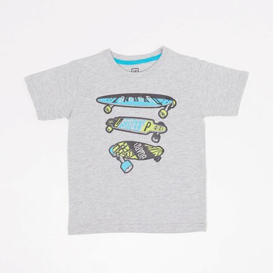 Camiseta Up Stamps Niño