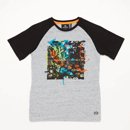 Camiseta Gris Silver Art-Tech