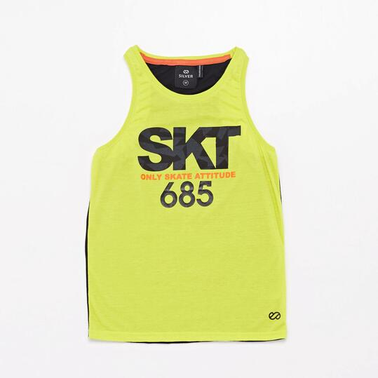 Camiseta Tirantes Silver Skate Energy Junior