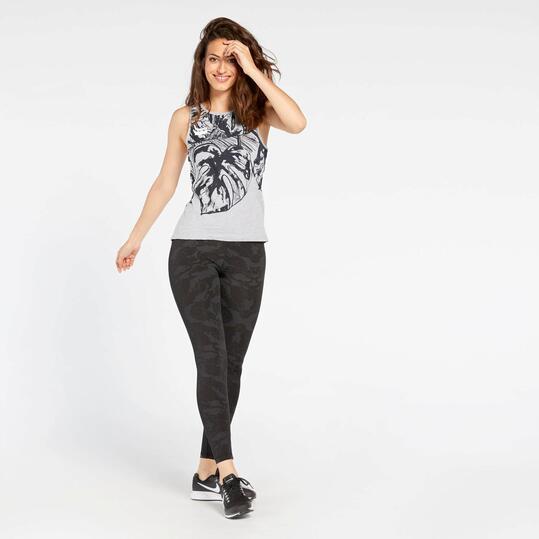 Camiseta Tirantes Silver Tropic