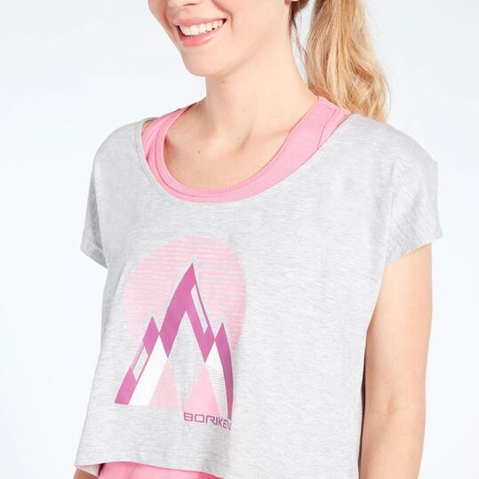 Camiseta Doble Montaña Boriken
