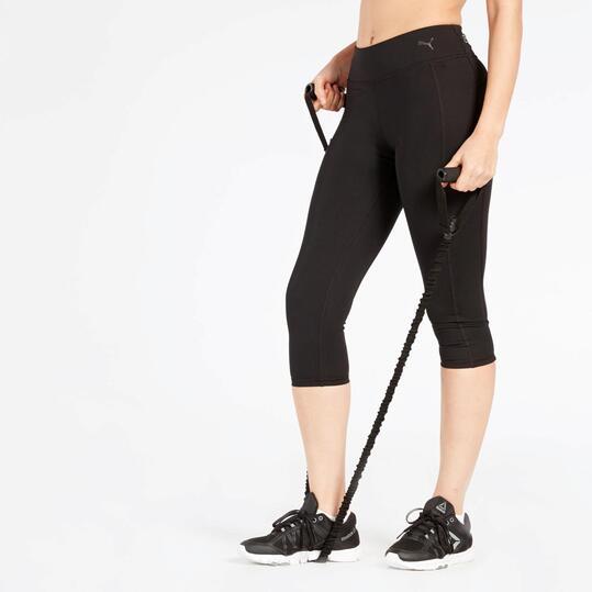 Mallas Fitness Puma Negras