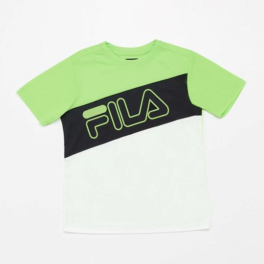 Camiseta Manga Corta Fila Junior